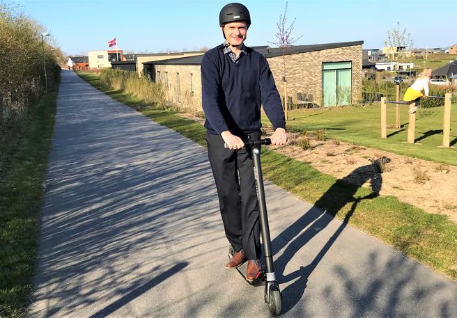 El-løbehjul er, som i Danmark, også udbredt i Norge. Via Trafik hjælper med, hvordan det kan gøres mere sikkert at bruge disse i Norge.