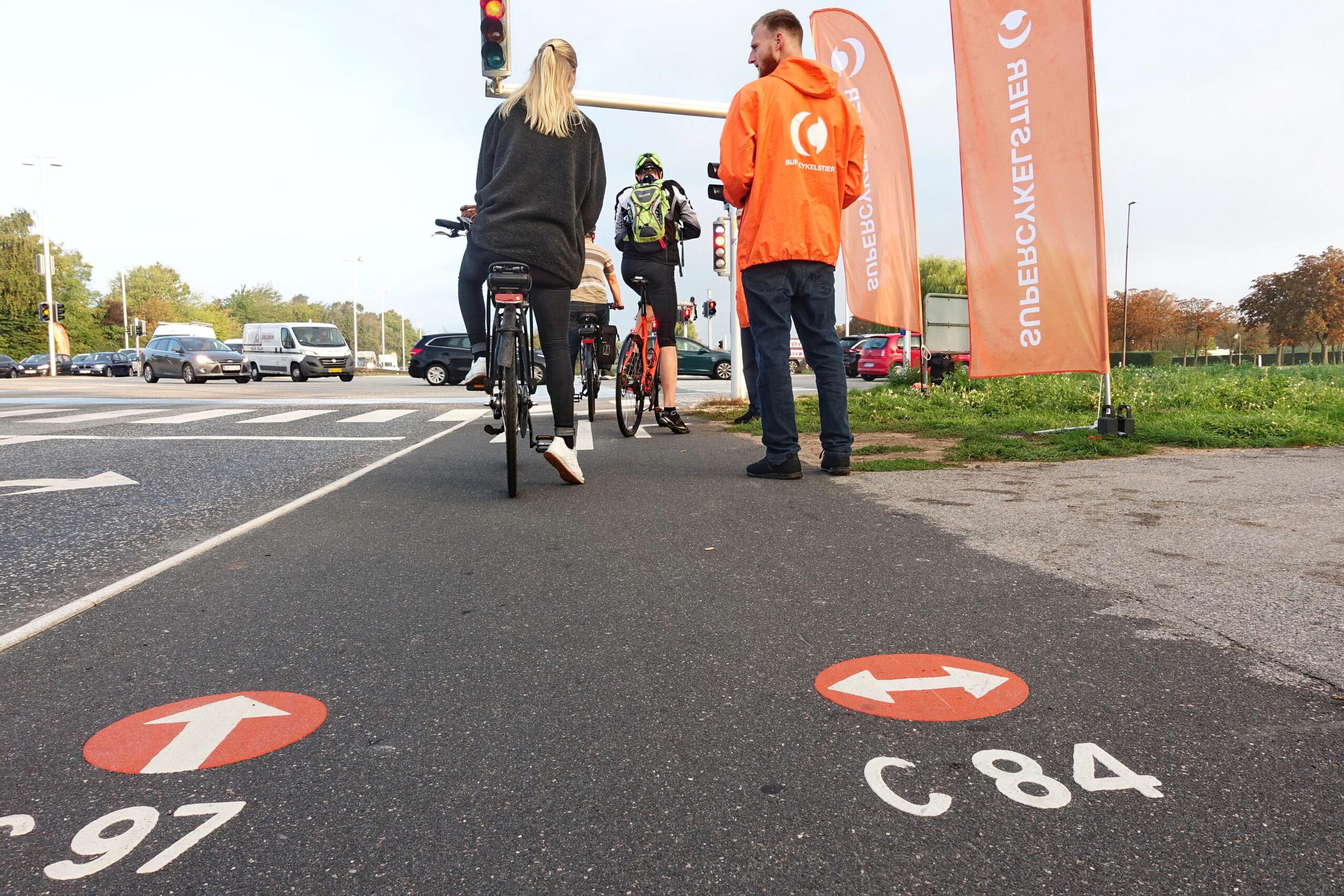 Supercykelstier - Via Trafik evaluerer dem i København.