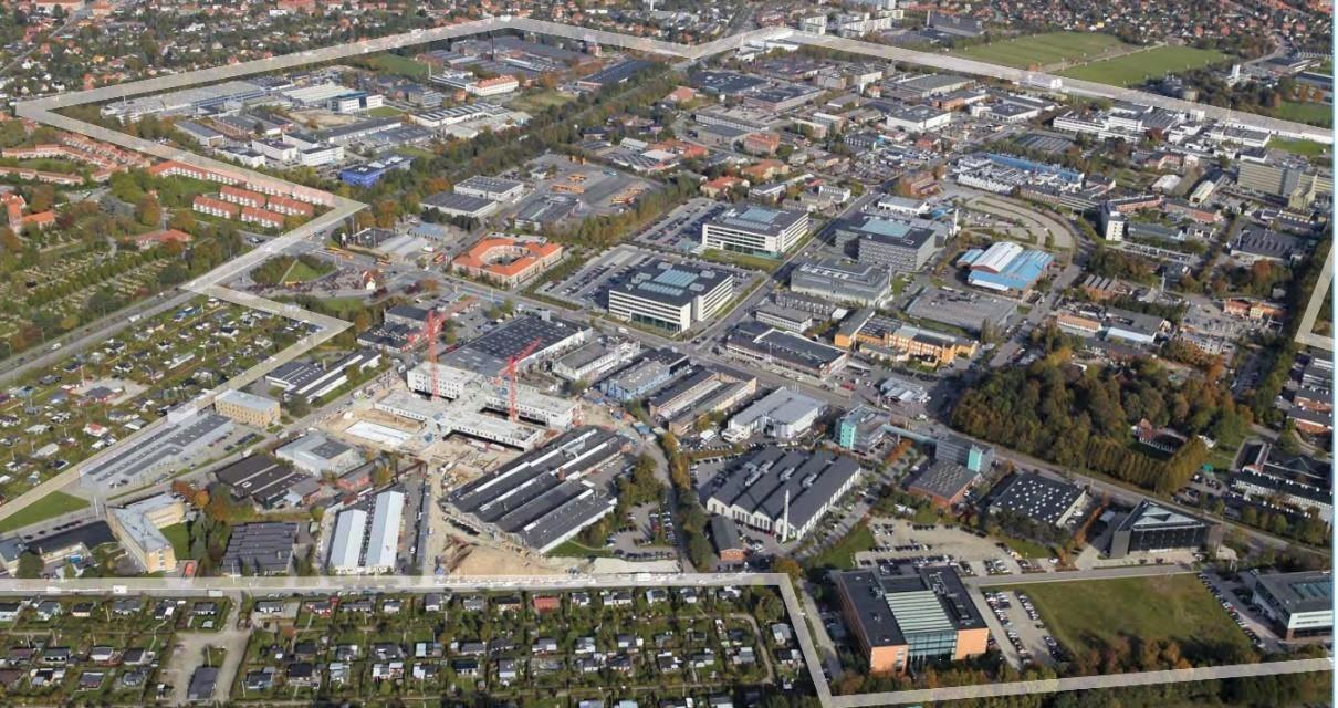 Mikromobilitet skal fremme bæredygtig transport i Erhvervskvarteret i Gladsaxe.