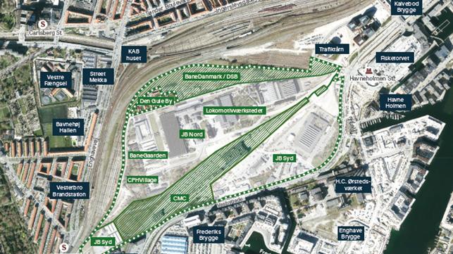Jernbanebyen – Via Trafik er blandt de fem udvalgte teams af 30 ansøgere, der skal konkurrere i konkurrencen om helhedsplanen for byrummet på Vesterbro.